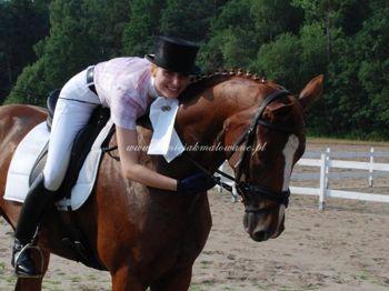 2010.07.17 - Pierwsze zawody Wiwien i Ani